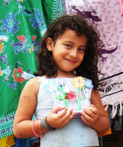 girl in Puntarenas