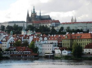 The Lesser Town (with St. Vitus Cathedral)